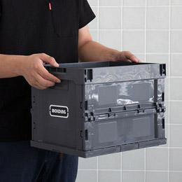 접이식으로 사용 가능한 컨테이너 박스